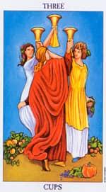 3 de Copas Tarot de María Rituales