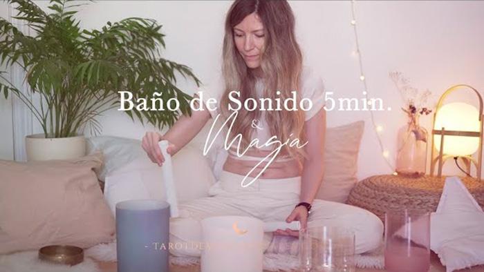 Baño de Sonido 5 min - Tarot de María