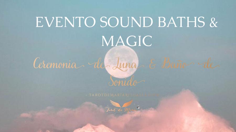 Ceremonia de Luna & Baño de Sonido