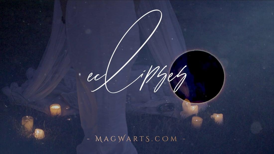 Magia en un Eclipse de Luna - Tarot de María & MAGWARTS®