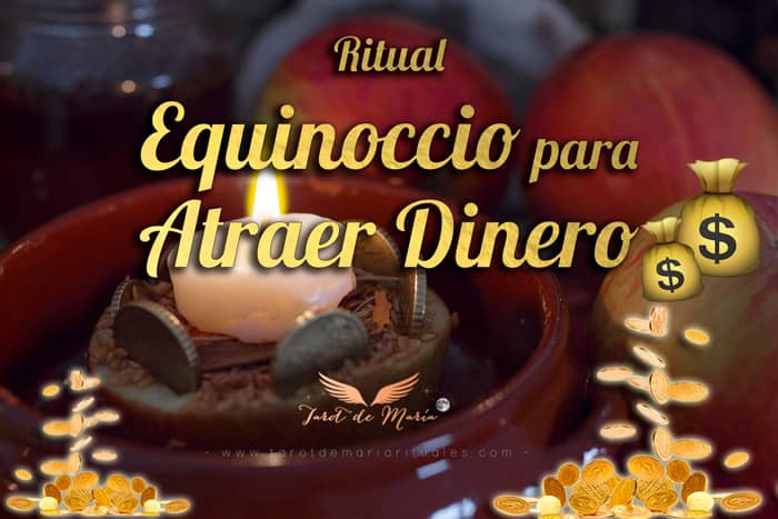 RITUAL EQUINOCCIO PARA ATRAER DINERO -Tarot de María