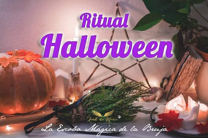 ritual halloween tarot de maria escoba romero