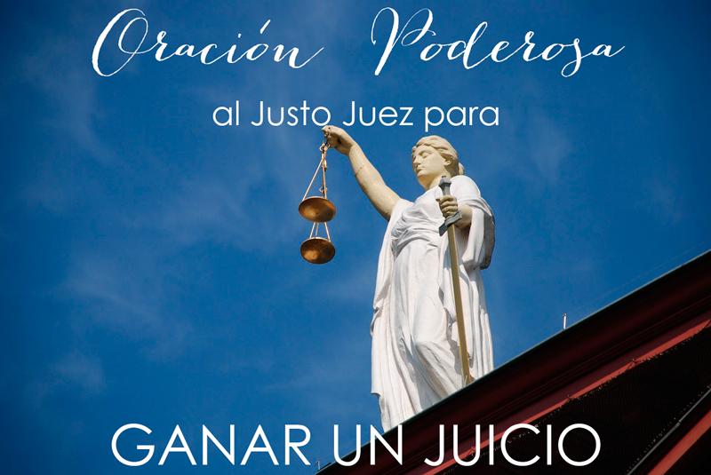 Cómo Ganar Un Juicio Oración Fuerte Al Justo Juez Tarot De María