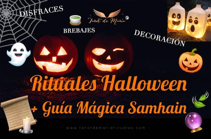 rituales halloween samhain - tarot de maria