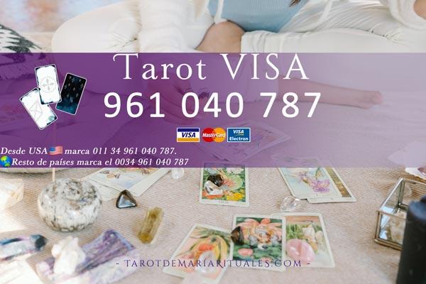 Lectura de Tarot de María por VISA
